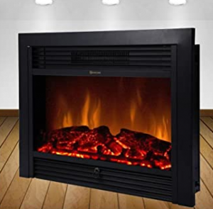 Best Choice Products Embedded Fireplace Electric Insert Heater