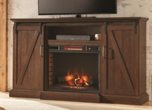 Home Decorators Collection Chestnut Hill Electric Fireplace