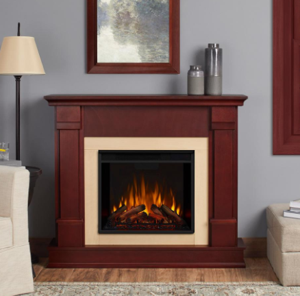 Real Flame Silverton 48 in. Electric Fireplace