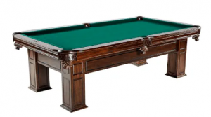 Barrington Springdale Claw Leg Billiard Table Set