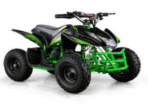 Titan Kids 24V Green Mini Quad ATV